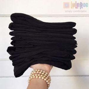6 Pairs Black TC Leggings